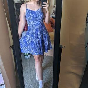BLUE PRINT DRESS 💙